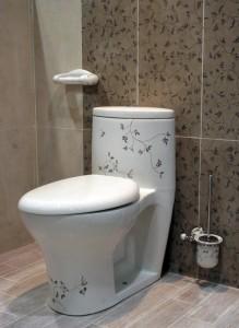 la decoration des toilettes