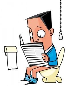 lectures aux toilettes