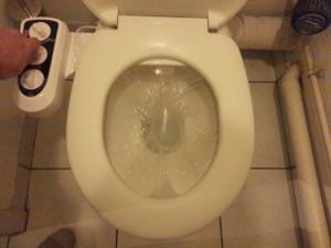 La douchette wc ainsi installé chez vous