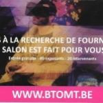 Les protections de lunettes wc ou planche Saniprotect s'invite au Salon des Sociétés de Wallonie à Namur